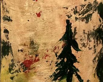 Love Affair - Acrylic on Canvas 11x14