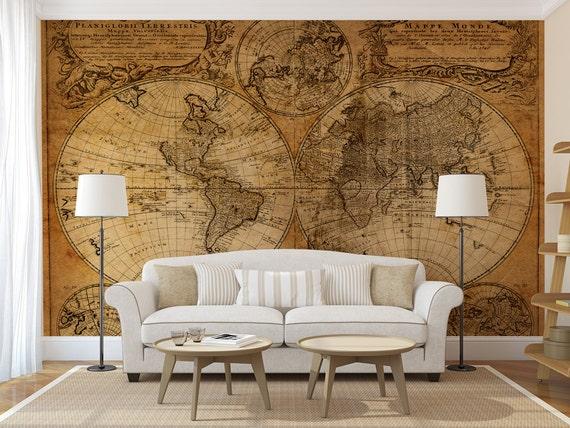 Papel de pared antiguo alta calidad en relieve papel - Papel pared antiguo ...