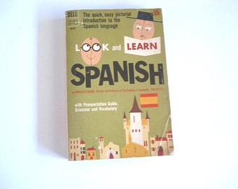 Look And Lean Spanish, Spanish Dictionary, Linquist, learning, Spanish, Study of language, Pictual Dictionary,Spanish Guide,Speaking Spanish
