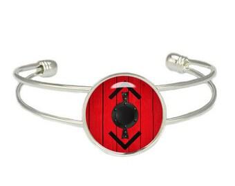 Vikings Bjorn Shield Cuff Bangle Bracelet Fandom Jewelry Viking Warrior Fangirl Fanboy