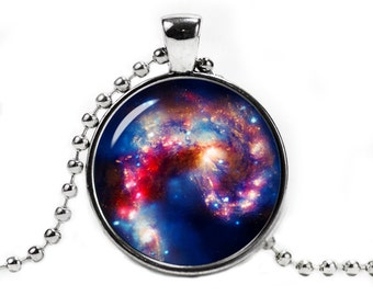Beautiful Nebula Necklace Pendant Space Necklace Nebula Jewelry Galaxy necklace