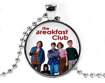 Breakfast Club Necklace Pendant The Breakfast Club Necklace Fangirl Fanboy