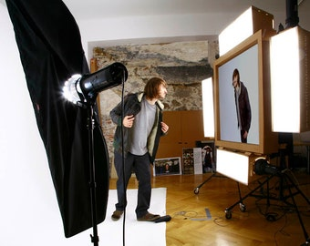 A Unique self-portrait studio for sale