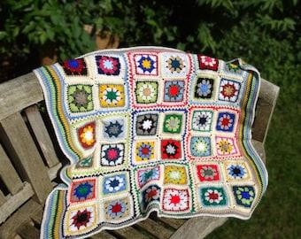 A  Klimt inspired Bits'n'Bobs cot or stroller quilt