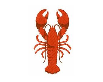 Maine Lobster - Machine Embroidery Design
