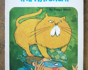 William the Watch Cat - Vintage Children's Book - Written by Peggy Man and Illustrated by Bill Morrison