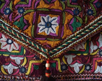 Indian embroidered bag Rajasthan