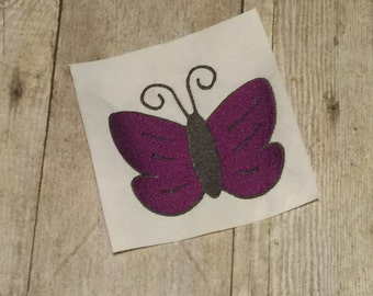 Butterfly Embroidery Design, Butterfly Applique