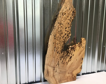 Art Piece made from Wormy Maple
