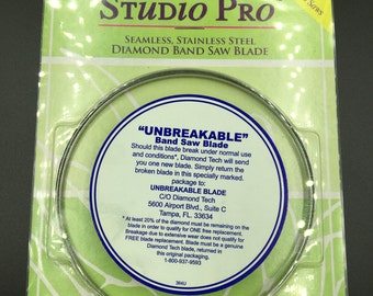 Studio Pro Saw Blade, Ring Saw, Band Saw.