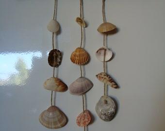 New! Mini mobile shell SLIMMING/magnet-italian sea shells mobile/magnet-wind chimes-wind chimes