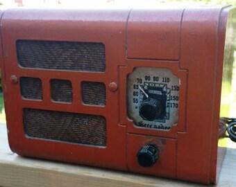 1930s Serenader Radio by B.F. Goodrich w/Bluetooth