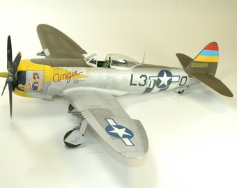 "Scale Model - 1/32 P-47D ""Angie"""