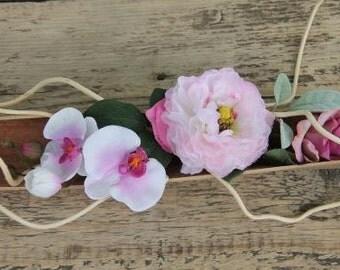 Palm leaf rose m