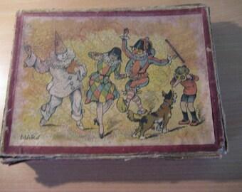 Antique French 3 x puzzles Marque the Fabrique JR 1900 Paris...ca.