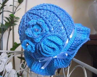 cornflower blue Cap