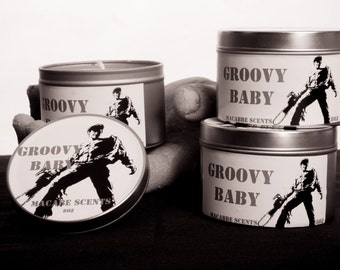 Groovy Baby, 8 ounce candle