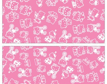 hello kitty party supplies - Girls party Popcorn cones , Popcorn bag, Printable party accessories , Snacks bag , Holiday decorations