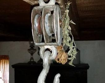 Metal pulley