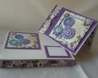 3d Floral Friendship Card