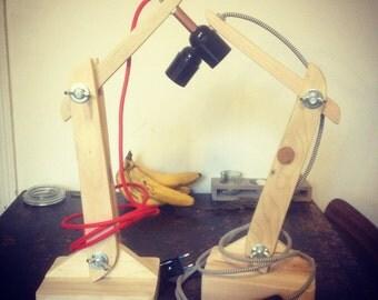 lamp wooden pallet
