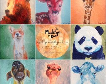 Little Animals prints