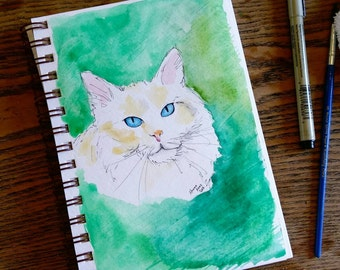 Custom Pet Portrait-5x8