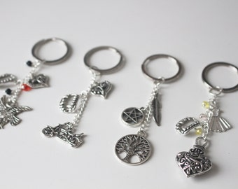 The Vampire Diaries inspired Character Keychains