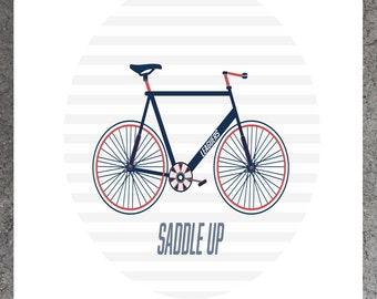 Saddle Up Print