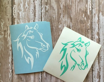 Horse decal, Horse tumbler decal, Horse laptop decal, Horse car decal, Horse Yeti decal, Horse Ozark decal, Pony decal, Equestrian decal