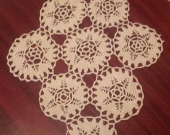 Crochet doily, lace doily