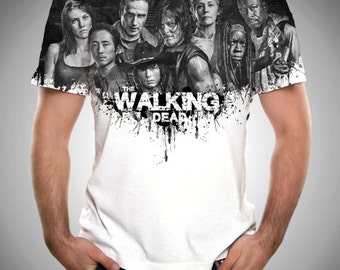 The Walking Dead, Daryl Dixon Shirt, Zombies, TWD, Zombie, TWD Shirt, Daryl Dixon, All Over Print Shirt