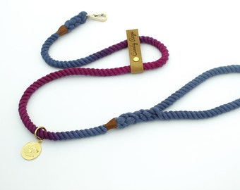 Rope Dog Leash,aurorasky ombre Pet Leash
