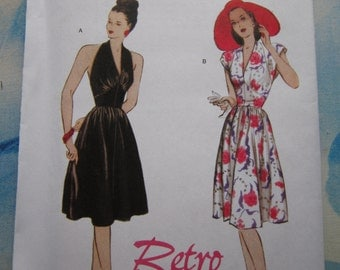 Butterick 5209 Reproduction 1947 Dress Sewing Pattern 14-20