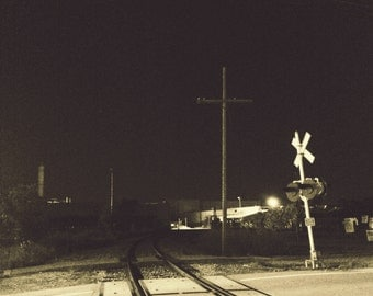 Railyard by Abandoned Factory