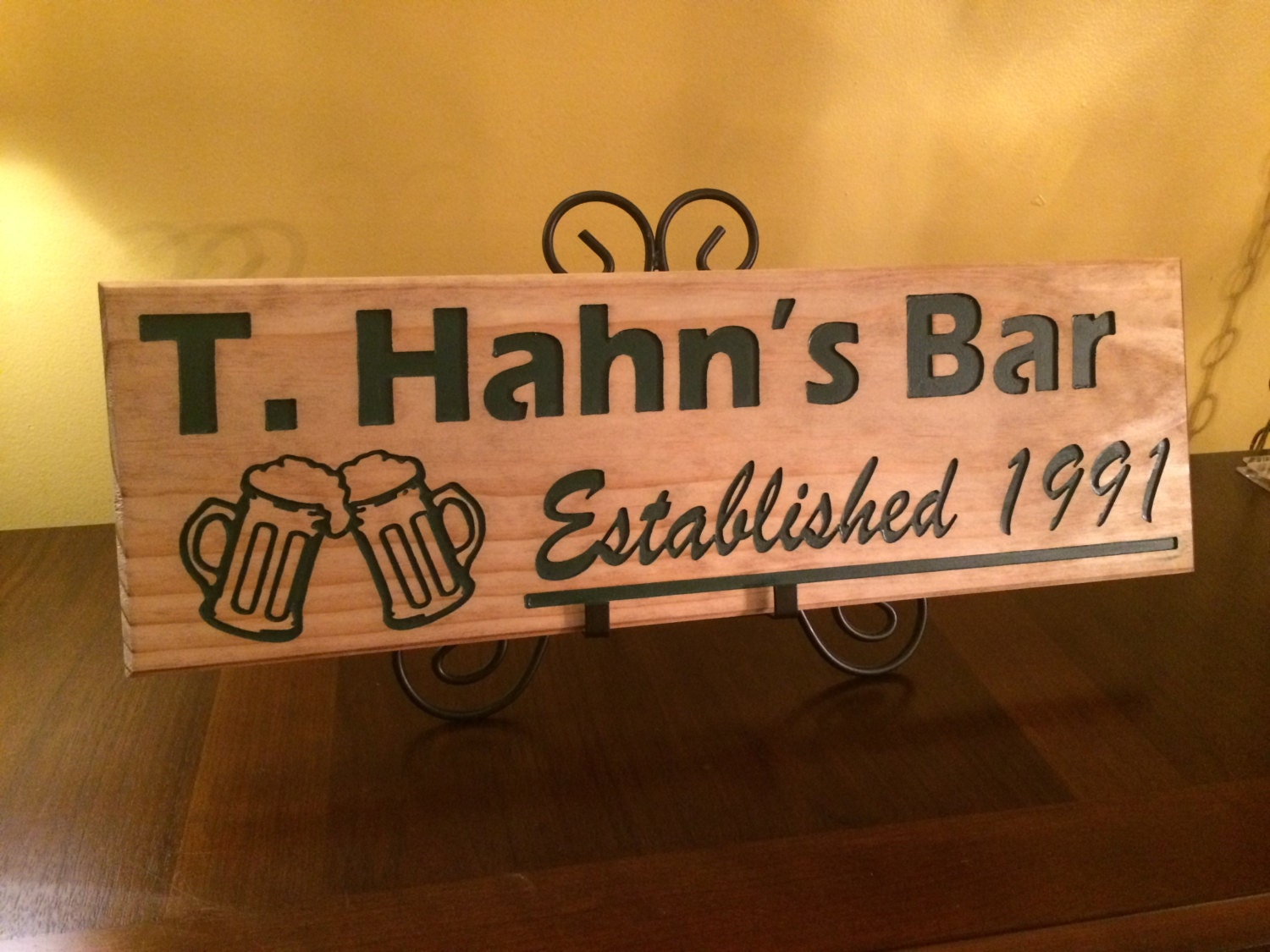 Personalized Man Cave Bar Signs : Personalized signs man cave bar custom family