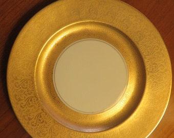 Vintage Gold rimmed Serving Plate - Thomas / Bavaria