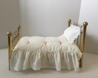 American girl doll Samantha's brass bed