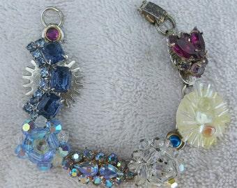 Handmade Vintage Earring Bracelet