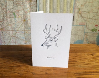 Significant Other Greeting Card - Dear