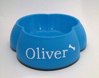 Personalized pet dish,  Dog Dish, Water Bowl, Food Dish, Cat Dish