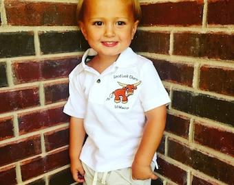 University of Texas Polo with baby Bevo