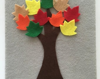 Felt Board Fall Leaves Counting (1-10)