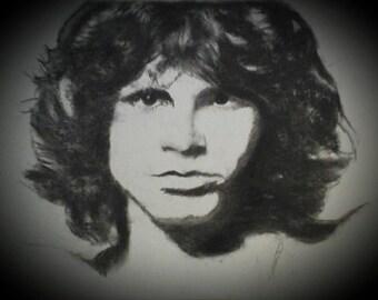 Original 16/20 Jim Morrison Portrait
