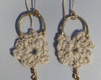 Bohemian Flower Earrings