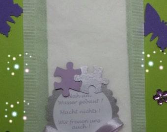 Tears of joy handkerchief wedding