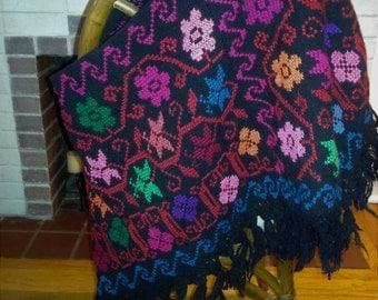 Vintage southwestern poncho/shawl