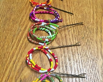 Sets of Removable Hair Wraps