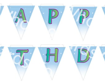 Disney's Zootopia Birthday Banner Download