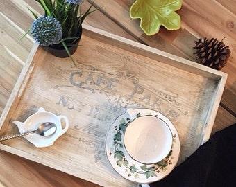 Café Paris Vintage Tray